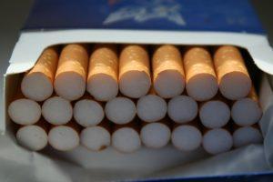 タバコ 23本見えている
