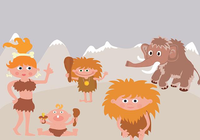 石器時代  マンモス