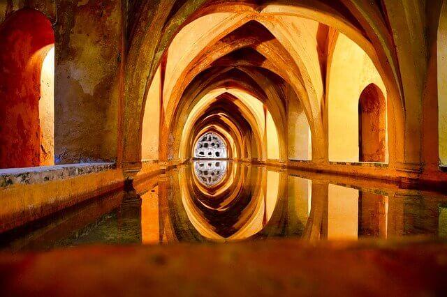 ヨーロッパの歴史がある大浴場
