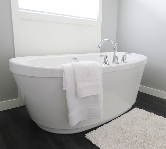 湯舟(浴槽)白い 綺麗