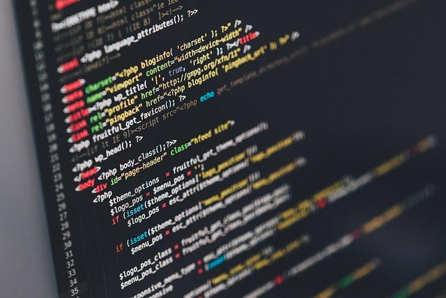 パソコン コード画面