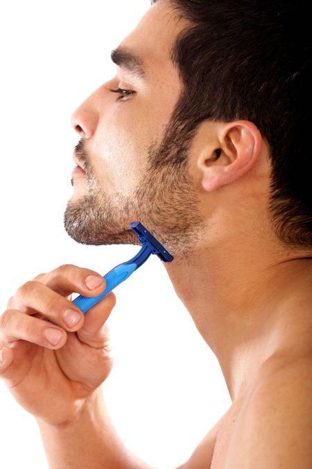 髭剃り 男性