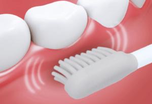 ガムケアモード 歯茎をマッサージ