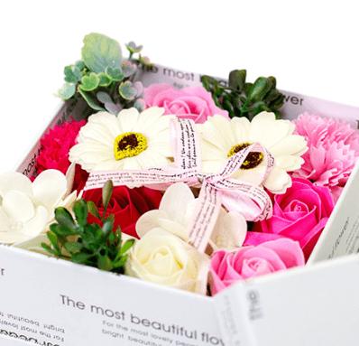 花がいっぱいのプレゼント