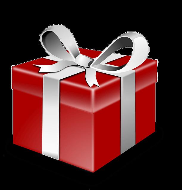 プレゼントの箱のイラスト