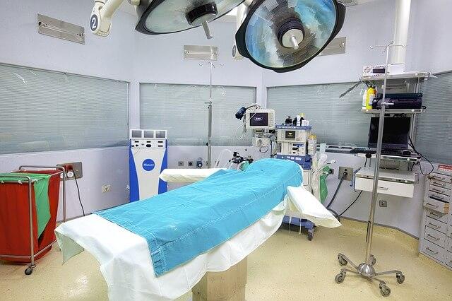 手術室の写真