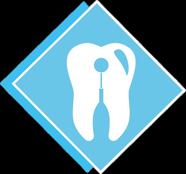 歯の標識 イラスト