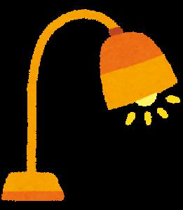 電気スタンドのイラスト