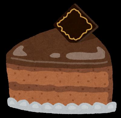 甘いもの チョコレートケーキ